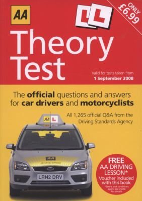 AA Theory Test: The Official Questions and Answers for Car Drivers and Motorcyclists (AA Driving Test)