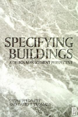 Specifying Buildings A Design Management Perspective