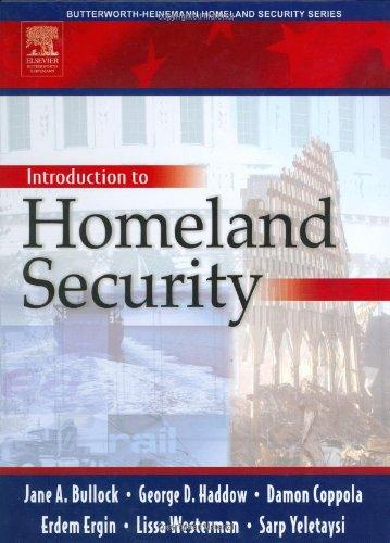 Introduction to Homeland Security (Butterworth Heinemann Homeland Security)