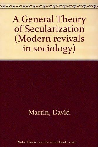 A General Theory of Secularization