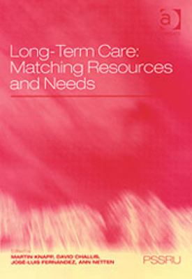 Long-Term Care Matching Resources and Needs
