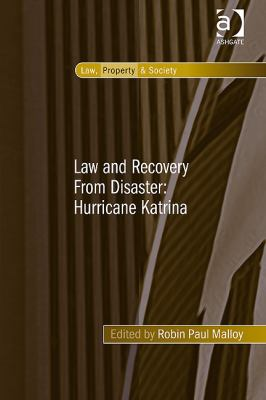 Law and Recovery From Disaster - Malloy, Robin Paul pdf epub
