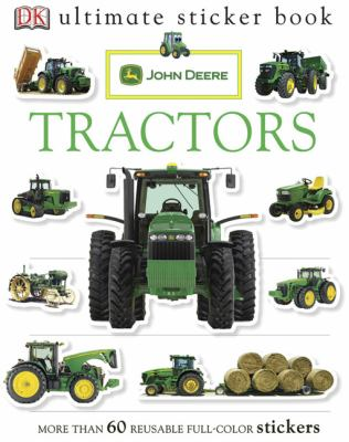 Ultimate Sticker Book: Tractor