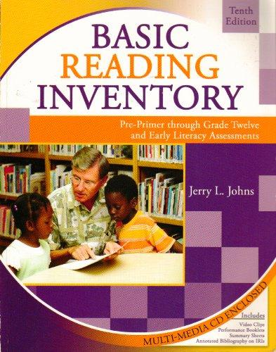 BASIC READING INVENTORY W/CD