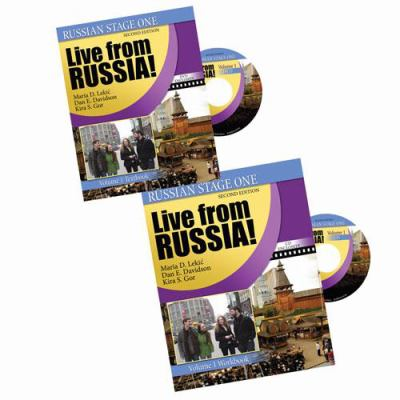 Russian Stage One: Live from Russia: Volume 1 (Russian in Stages)