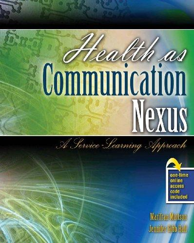 Health as Communication Nexus: A Service Learning Approach