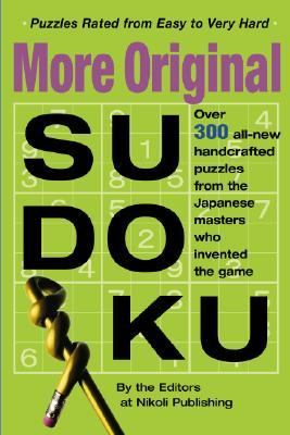 More Original Sudoku Book 3