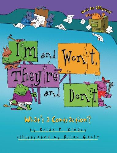 I'm and Won't, They're and Don't: What's a Contraction? (Words Are Categorical R)