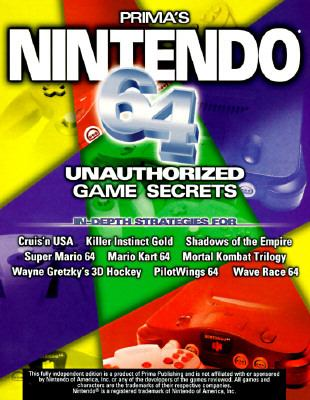 Nintendo 64 Unauthorized Game Secrets - Nick Roberts - Paperback
