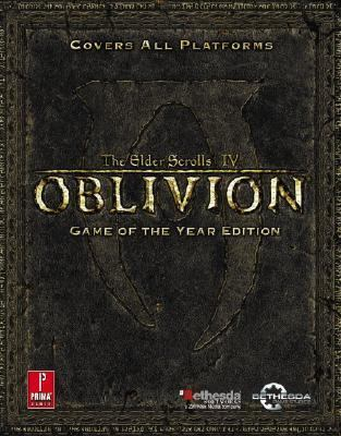 Elder Scrolls IV: Oblivion Game of the Year: Prima Official Game Guide