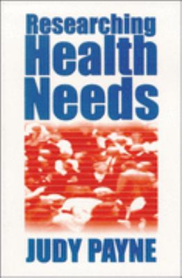 Researching Health Needs A Community-Based Approach