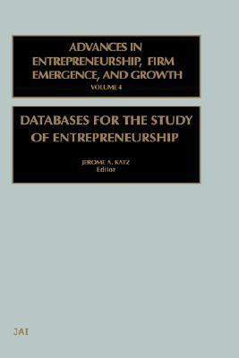 Databases for the Study of Entrepreneurship