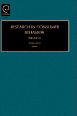 Research in Consumer Behavior