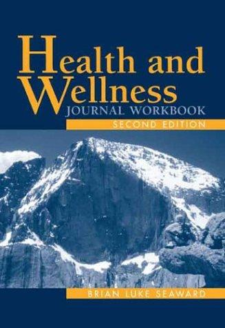 Health And Wellness Journal Workbook