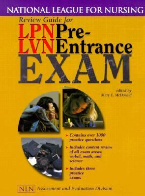 Review Guide for Lpn Lvn Pre-Entrance Exam