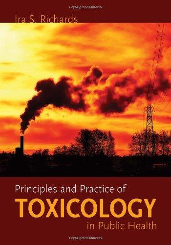 Principles And Practice Of Toxicology In Public Health