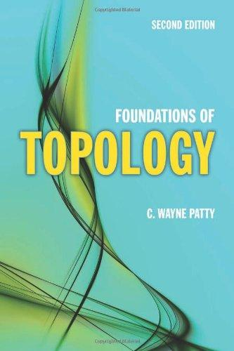 Foundations Of Topology (Jones and Bartlett Publishers Series in Mathematics)