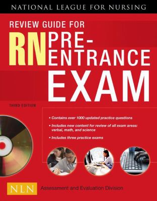 Review Guide for LPN/LVN Pre-Entrance Exam, 3rd Edition [Paperback]