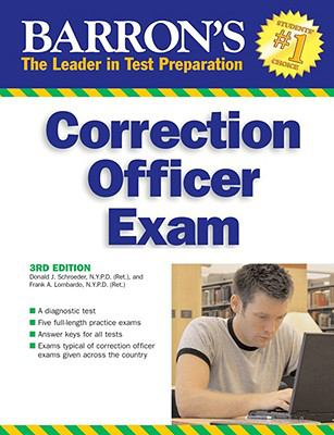 Barron's Correction Officer Exam