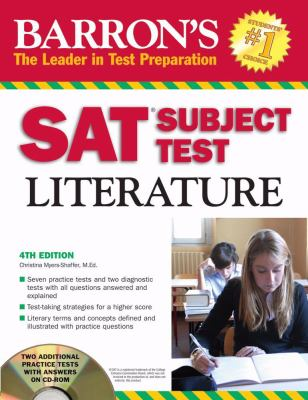 SAT Subject Test: Literature (book w/CD-ROM)