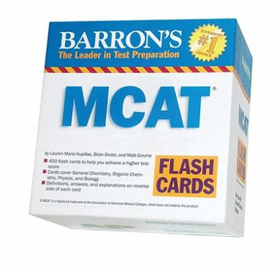 Barrons MCAT Flash Cards