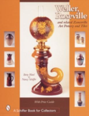Weller, Roseville, & Related Zanesville Art Pottery & Tiles