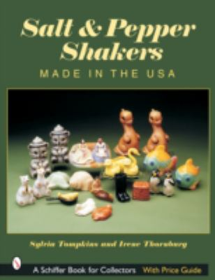 Salt & Pepper Shakers Made in the USA