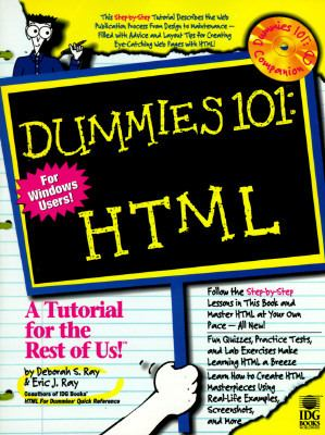 Dummies 101: HTML (with CD-ROM) - Idg Publishing - Paperback - BK&CD-ROM