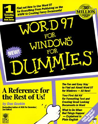Word 97 for Windows for Dummies