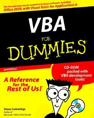 Vba for Dummies-w/cd