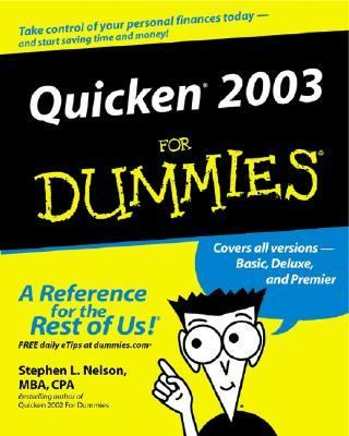 Quicken 2003 for Dummies