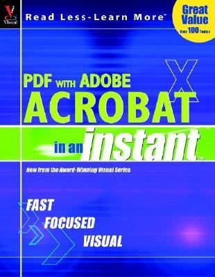 "Pdf With Adobe Acrobat ""X"" in an Instant"