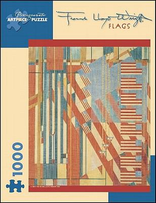 Frank Lloyd Wright: Flags (Pomegranate Artpiece Puzzle)