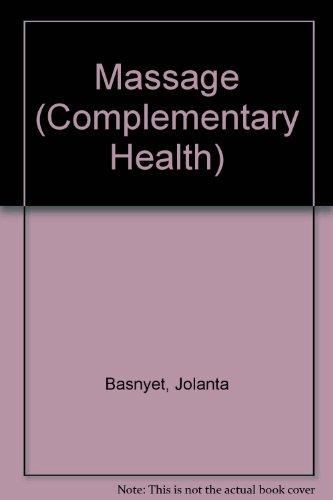 Massage (Complementary Health)