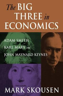 Big Three in Economics Adam Smith, Karl Marx, And John Maynard Keynes