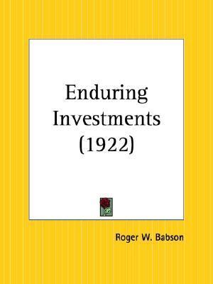 Enduring Investments 1922