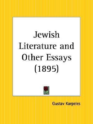 Jewish Literature and Other Essays 1895