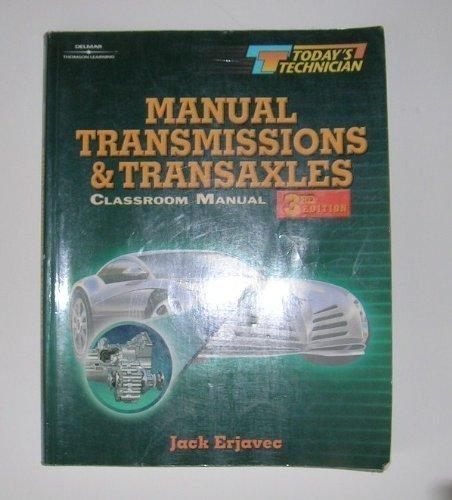 Today's Technician: Manual Transmissions and Transaxles CM