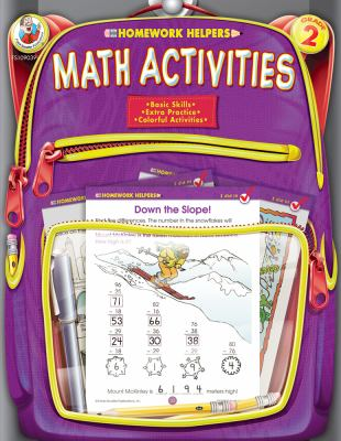 Homework Helper Math Activities, Grade 2