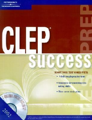Peterson's 2002 Clep Success