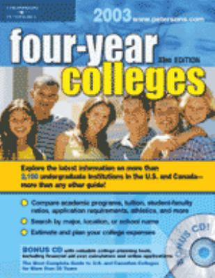 Four Year Colleges 2003