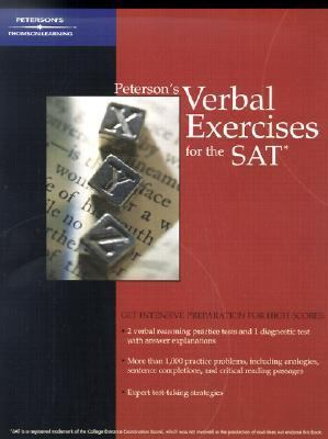 Peterson's Verbal Exercises for the Sat