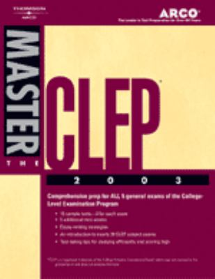 Master the Clep 2003