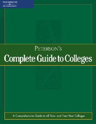 Peterson's Complete Guide to Colleges2003