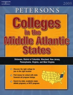 Colleges in the Middle Atlantic States 2005