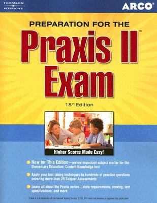 Preparation For The Praxis Ii Exam 2006