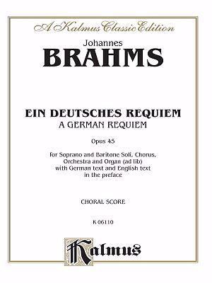 Brahms Requiem (German)