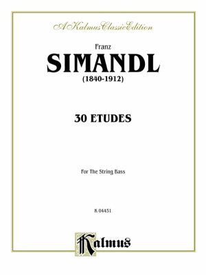 30 Etudes for Double Bass