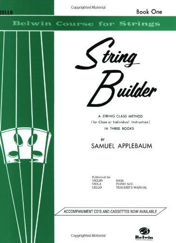 Stringbuilder Book 1 for Cello (Belwin Course for Strings)