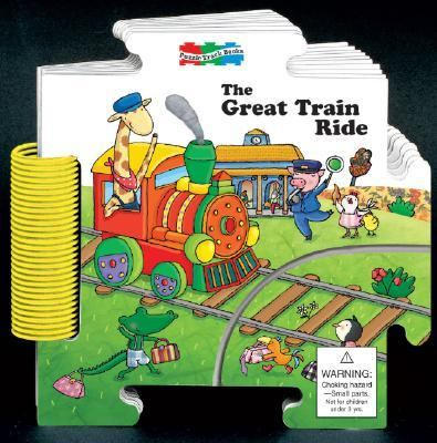 The Great Train Ride Puzzle Track Books